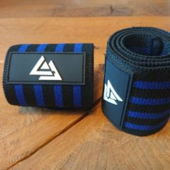 Donkerblauwe AA LIFESTYLE® SPORTS Wrist Wrap - Fitness - Bodybuilding - Crossfit - Krachttraining - Dark Blue