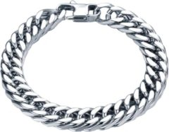 Zilveren LGT JWLS Heren armband Edelstaal Link chain 8mm
