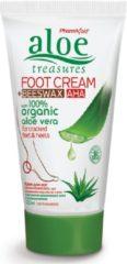Pharmaid Aloe Treasures Moisturizer Voetcrème met Bijenwas en AHA 120ml | Natuurlijk Goed