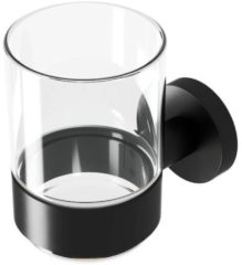 Geesa Nemox Black Glashouder met glas Zwart 91650206