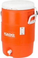 Igloo Koel Tank Seat Top 5 Gallon Oranje Wit 18,9l
