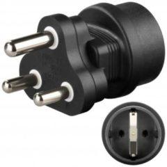 CEE 7/4 jack auf Südafrika-Stecker<br>Stromadapter - Goobay