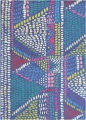 Bluebellgray - Palais 18408 Vloerkleed - 140x200 cm - Rechthoekig - Laagpolig Tapijt - Retro - Meerkleurig