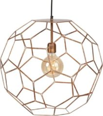 Zwarte It's About RoMi Marrakesh hanglamp ijzer rond koper Ø34