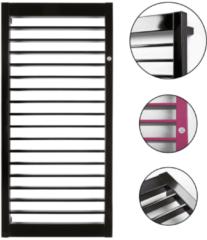 HD Heating Handdoekradiator Paris Wit Of Graphite 50cm Breed In 4 Hoogtes Verkrijgbaar (Ook in elektrische uitvoering)