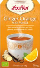 Yogi Tea YogiTea Biologische Ginger Orange with Vanilla