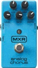 Blauwe MXR M234 Analog Chorus reverb/chorus/vibrato/tremolo pedaal