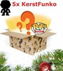 Groene Funko! Mystery Box Funko Pop 5 figuren thema: Kerst