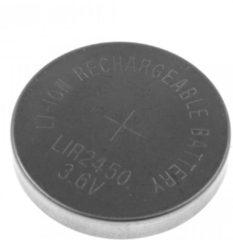 IIQUU LIR2450 Oplaadbare knoopcel Li-ion 3,6v