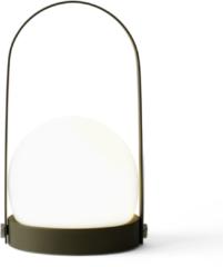 Donkergroene Menu Carrie tafellamp LED olive