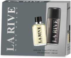 La Rive Grey Point - Geschenkset - Eau de toilette 90 ml + Deodorant 150 ml