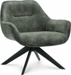 Groene Happy Chairs - Fauteuil Alvaro - Velvet Hunter