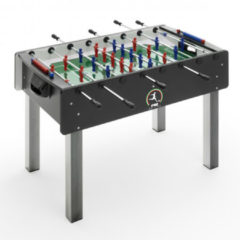 Rode F., A. S Fas Voetbaltafel Match 114,5 X 70 Cm Hout/staal/glas Zwart