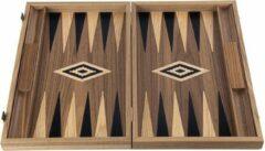 Manopoulos American Walnut Backgammon - 38 x 23 cm Top Kwaliteit