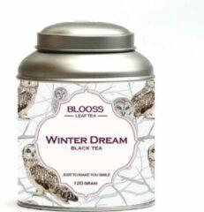 BLOOSS coffee Winter Dream | zwarte thee | losse thee | 120g | in theeblik