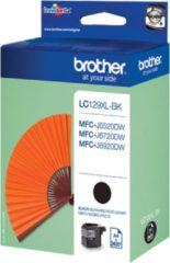 Zwarte Brother LC129XL-BK - Inktcartridge / Zwart / Hoge Capaciteit