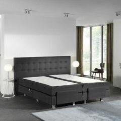 WoonQ +4 Gratis Kussens - Elektrische Your Home - Antraciet - Incl.Topmatras