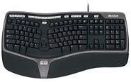 Microsoft Tastatur Natural Ergonomic Keyboard 4000 Microsoft Schwarz