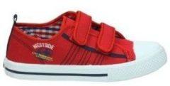 Rode Lage Sneakers Katini KFY12550