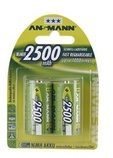 Ansmann Energy Ansmann Batterie 2 x C NiMH (wiederaufladbar) 2500 mAh 5030912