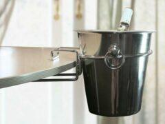 Grijze Imperial Kitchen Champagnekoeler-houder v/tafel