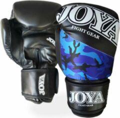 Joya Fight Gear Joya Vechtsporthandschoenen - Unisex - zwartwit/blauw