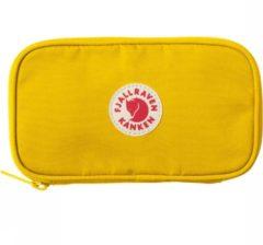 Gele Fjällräven Fjallraven K?nken Travel Wallet Portemonnee Unisex - Warm Yellow