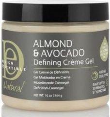 Design Essentials - Natural Almond & Avocado Curl Defining Creme Gel - 473ml