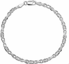 Quickjewels huiscollectie Armband Zilver Valkenoog 3,5 mm 18 cm
