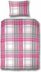 Roze 123slapen 1-Persoonsdekbedovertrek Patchja 140x200