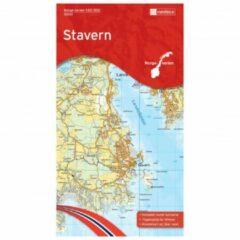 Nordeca - Wander-Outdoorkarte: Stavern 1/50 Auflage 2015