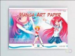Schoellershammer Manga tekenblok A3 75g/m2 Blok 75 vel