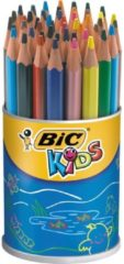 Bic Kids kleurpotlood Ecolutions Evolution Triangle, pot met 48 potloden