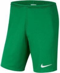 Groene Korte Broek Nike Park III Knit Short NB