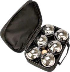 Zilveren Tactic Pétanque in een nylon tas 3-delig