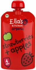 Ella's Kitchen Strawberries And Apples 4+ Maanden Bio (120g)