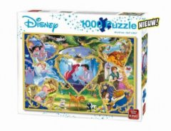 King International King Legpuzzel Disney Movie Magic Junior 1000 Stukjes