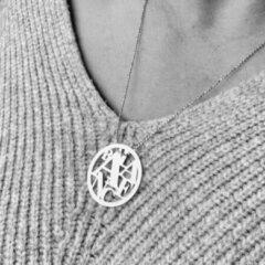 Zilveren Petit collection Collier Balance