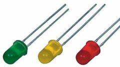 Velleman K/LED1 LED-assortiment Rood, Groen, Geel 3 mm, 5 mm