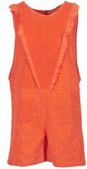 Oranje Jumpsui Brigitte Bardot BB44084
