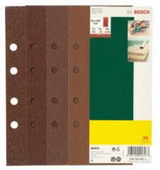 Bosch Accessories 2607019494 Excenterschuurpapier Met klittenband, Geperforeerd Korrelgrootte 120 (Ã) 125 mm 25 stuks