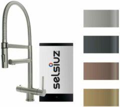 Gouden Kokendwaterkraan Selsiuz XL Gold Inclusief Combi Boiler