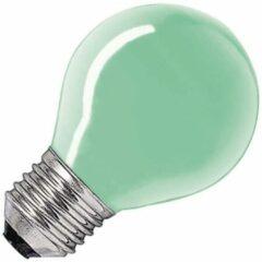 Huismerk gloeilamp Kogellamp groen 15W grote fitting grote fitting E27