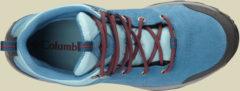 Columbia Fire Venture Mid Waterproof Women Damen Wanderschuh Größe UK 7,5 oxide blue, spicy