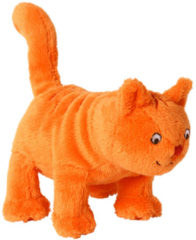 Oranje Happy Horse mini Dikkie Dik knuffel 14 cm