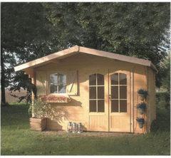 Solid tuinhuis 'Chamonix II' hout 10,99 m²