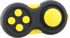 Calm Pad Fidget Pad – Wriemelkubus – Anti Stress Speelgoed – Fidget Cube – Wriemel Stick – Zwart Geel