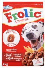 Frolic Compleet - Rundvlees - Hondenvoer - 4 kg