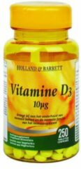 Holland & Barrett vitamine D-3 10MCG - 250 stuks