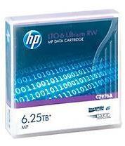 Hewlett Packard HP LTO6- Ultrium Datenkassetten, violett, 2,5 TB, 6,25 TB bei 2,5:1 Komprimierung